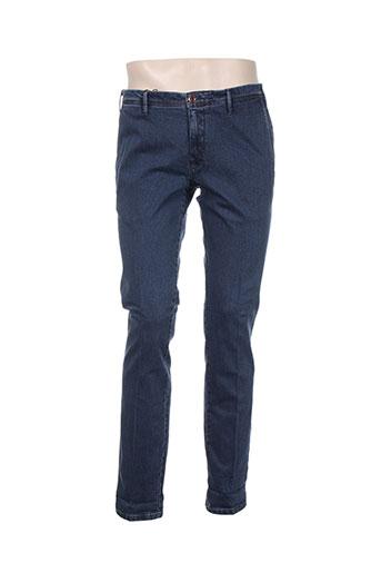 mmx jeans homme de couleur bleu