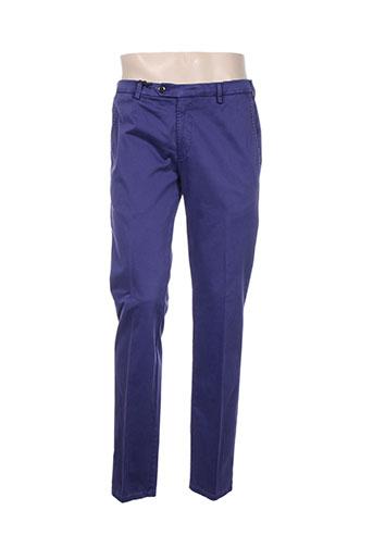 Pantalon casual violet MMX pour homme