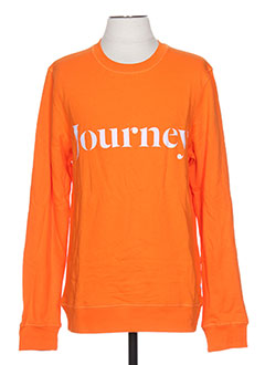 Sweat-shirt orange SAMSOE & SAMSOE pour homme