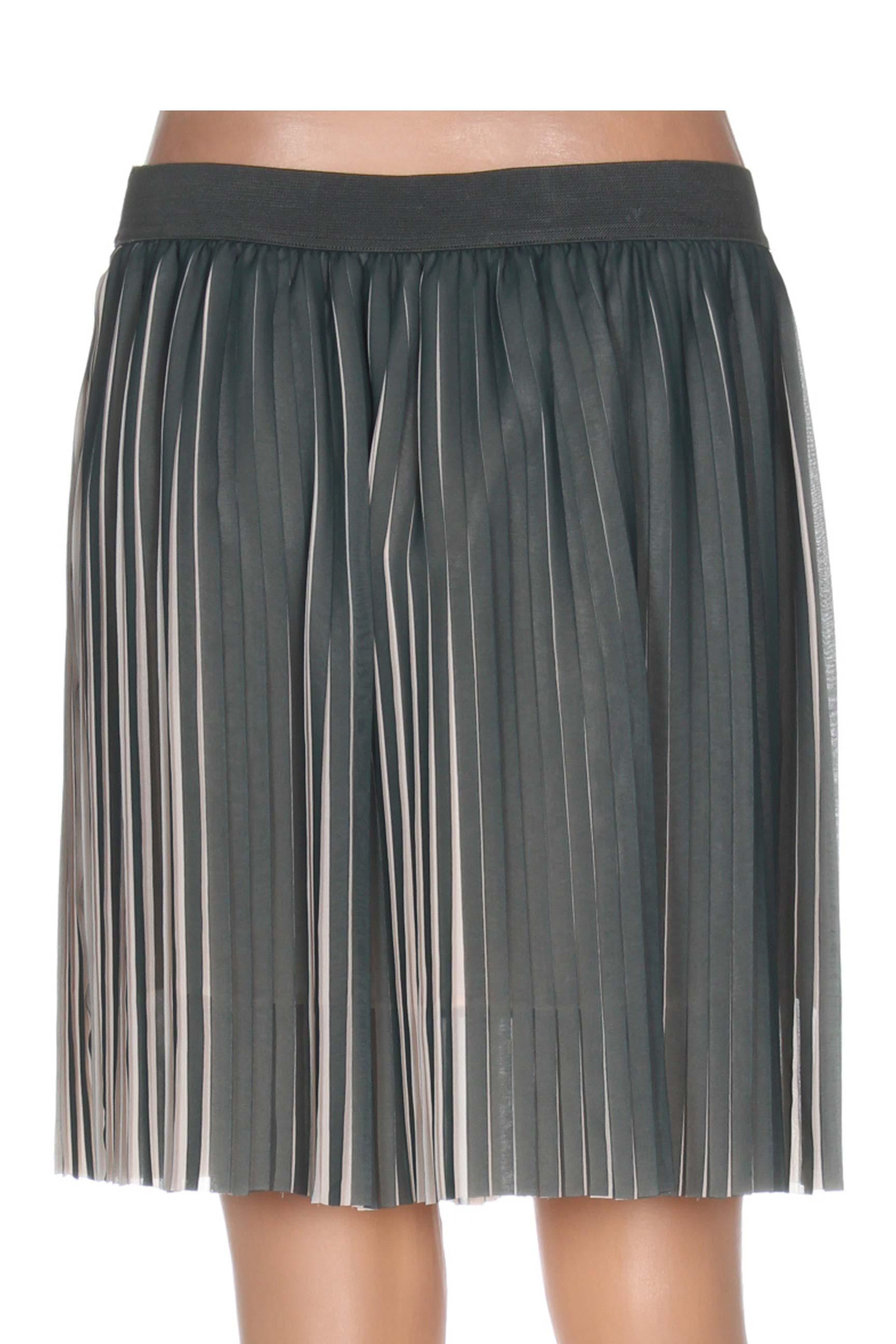 Samsoe Jupes Courtes Femme De Couleur Vert En Soldes Pas Cher 1178119-vert00