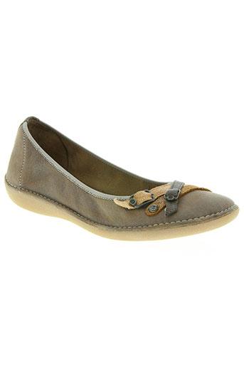 buggy chaussures fille de couleur marron