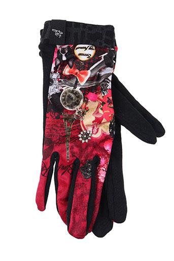 fst handwear accessoires femme de couleur rouge