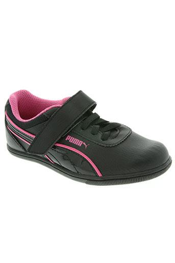 puma chaussures fille de couleur rose