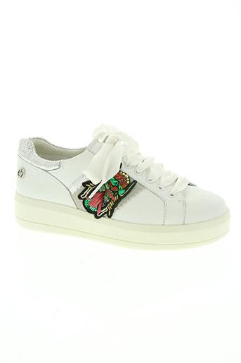 liu jo chaussures femme de couleur blanc