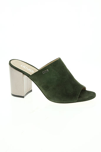 liu jo chaussures femme de couleur vert