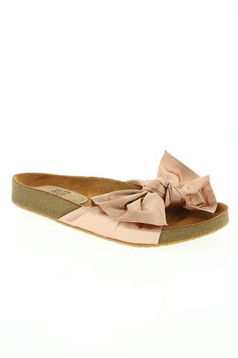 bibi lou chaussures femme de couleur rose
