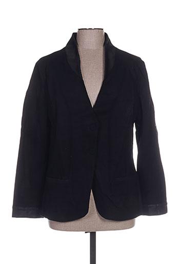Veste chic / Blazer noir LUCCHINI pour femme