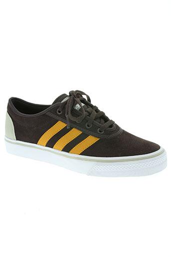 adidas chaussures homme de couleur marron