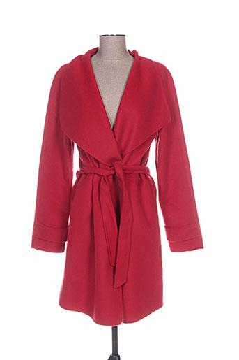 gil bret manteaux femme de couleur rouge