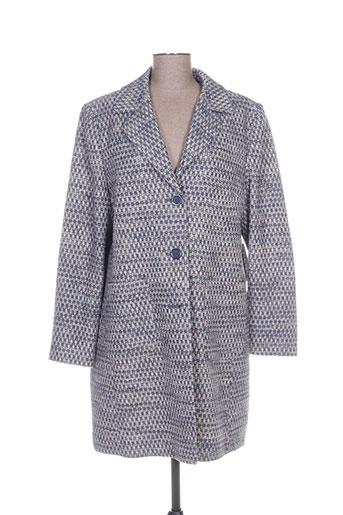 betty barclay manteaux femme de couleur bleu
