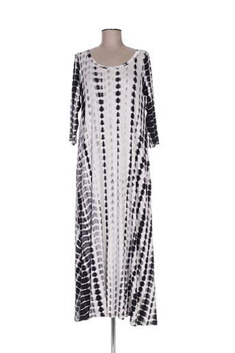 alembika robes femme de couleur gris