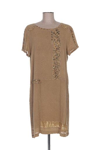 elisa cavaletti robes femme de couleur marron