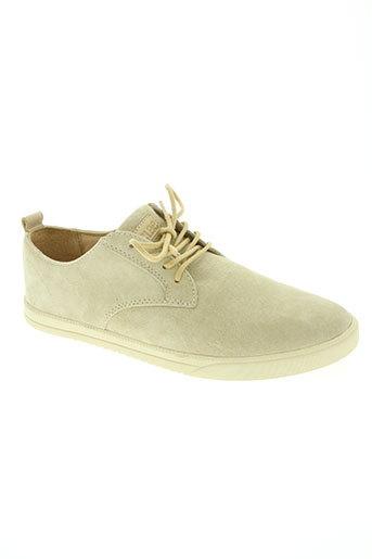 clae chaussures homme de couleur beige