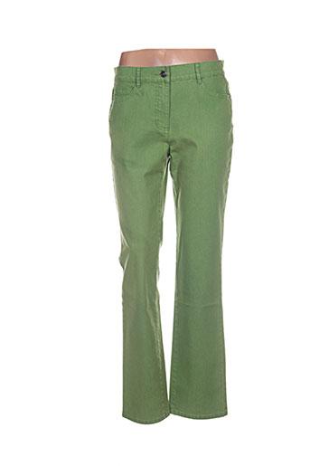 lebek jeans femme de couleur vert