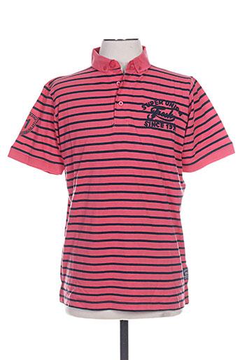 fresh brand t-shirts homme de couleur rose