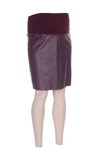 pietro brunelli jupes femme de couleur violet