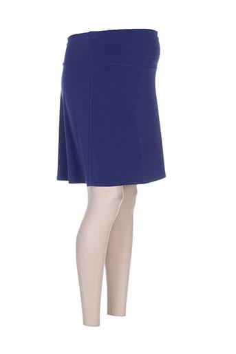 pomkin jupes femme de couleur bleu