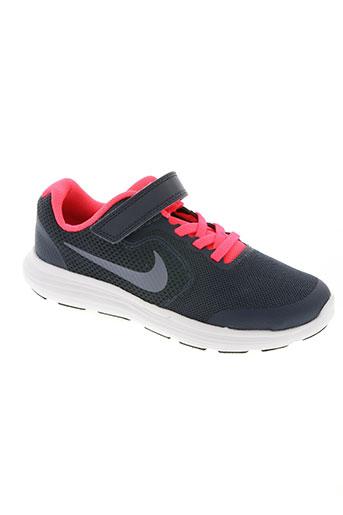 nike chaussures fille de couleur gris