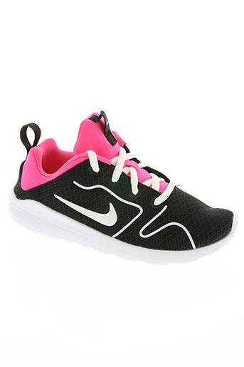 nike chaussures fille de couleur noir