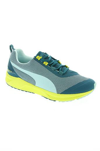 puma chaussures femme de couleur bleu