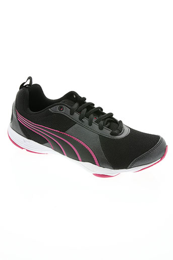 puma chaussures femme de couleur noir