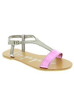 Sandales/Nu pieds rose BEPPI pour fille