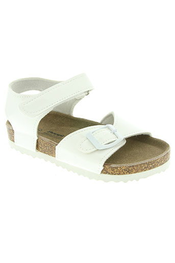 beppi chaussures fille de couleur blanc