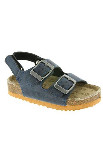 beppi chaussures enfant de couleur bleu