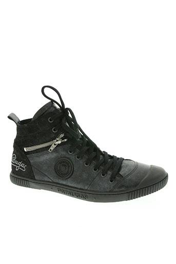 pataugas chaussures femme de couleur noir