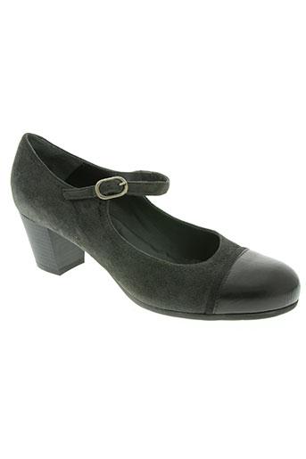 mosaica chaussures femme de couleur gris