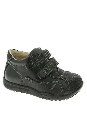 hit 16 chaussures garçon de couleur noir