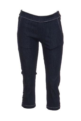 jean paul gaultier pantacourts fille de couleur bleu
