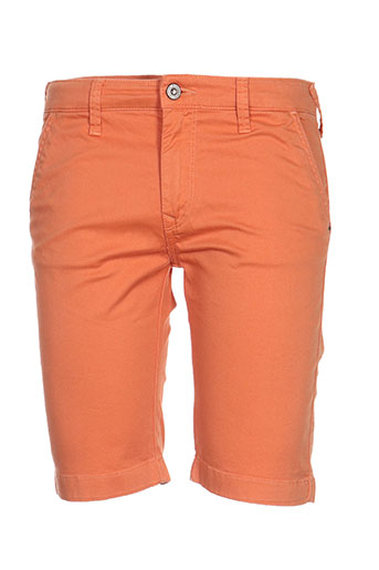 pepe jeans shorts / bermudas fille de couleur orange