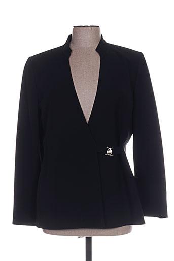 Veste casual noir ALOUETTE pour femme