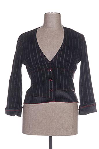 Veste chic / Blazer noir BOSCA pour femme