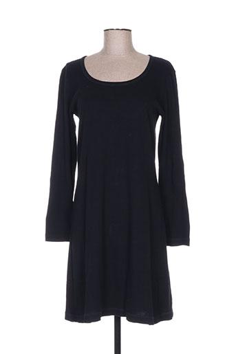 nid d'abeille robes femme de couleur noir