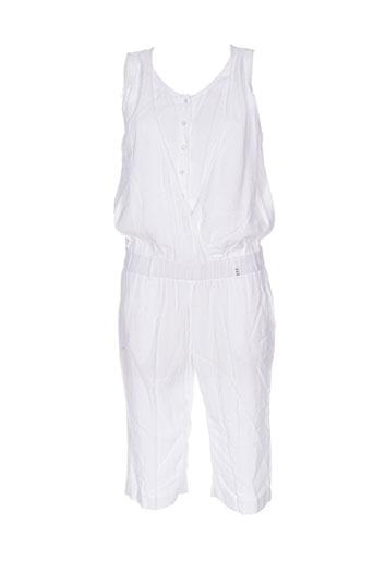 Combi-pantalon blanc COP COPINE pour femme