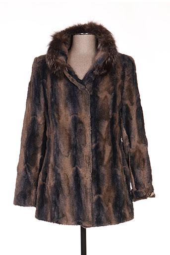 anton EFFI_CHAR_1 moda manteaux femme de couleur marron