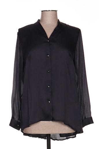 meri EFFI_CHAR_1 esca chemises femme de couleur bleu