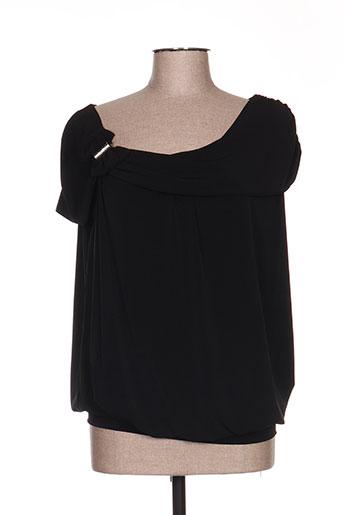 giani forte chemises femme de couleur noir