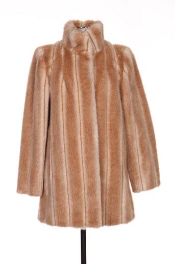 anton & moda manteaux femme de couleur beige