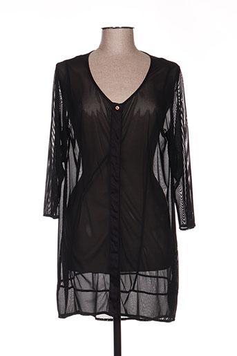 Veste casual noir ALAIN WEIZ pour femme