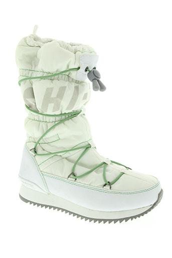 hi-tec chaussures femme de couleur blanc