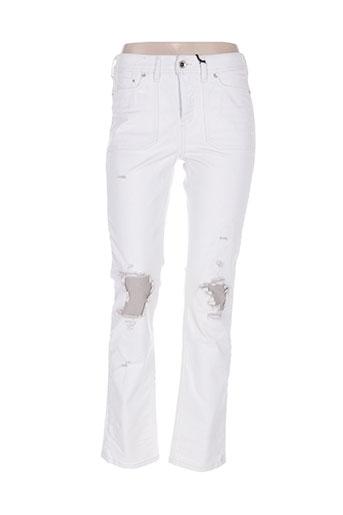 diesel jeans femme de couleur blanc