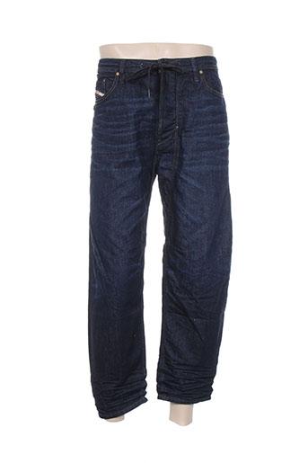diesel jeans homme de couleur bleu