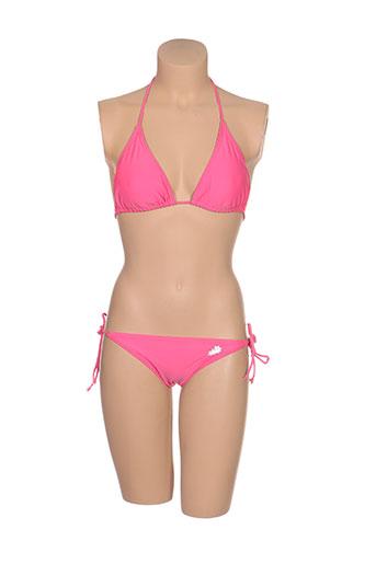 ines de la fressange maillots de bain femme de couleur rose