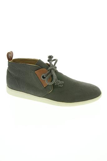 armistice chaussures femme de couleur gris