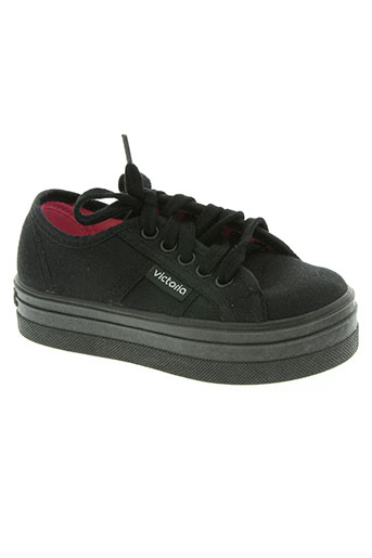 victoria chaussures fille de couleur noir