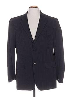 Veste casual noir JEAN-LOUIS SCHERRER pour homme