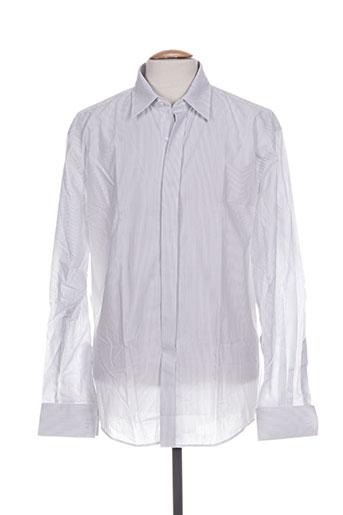 jean-louis scherrer chemises homme de couleur gris